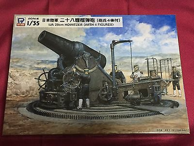 """""""Imperial Japanese Army 28cm Howitzer(With 4 Figures)"""" 1/35 Pit-Rord"""