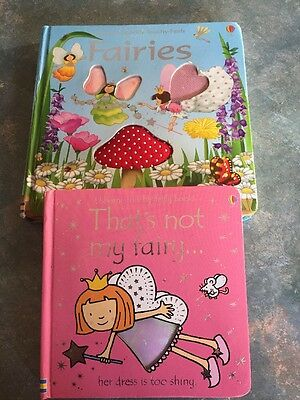 Books: That's Not My Fairy Usborne Touchy-Feely Board Books 9 Months+