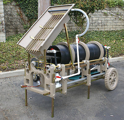 """Gemstone 15"""" Barrel Gold Trommel (New With Motor And Pump)"""