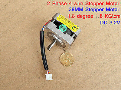 1.8 Degree 2-Phase 4-Wire Stepper Motor 5mm Shaft F CNC RepRap Prusa 3D Printer