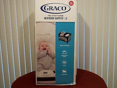 Graco® Pack'N Play® Playard with Newborn Napper™ LX Color Black