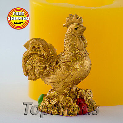 Cock 3D mold Food grade mold silicone molds mold for soap  Free Shipping