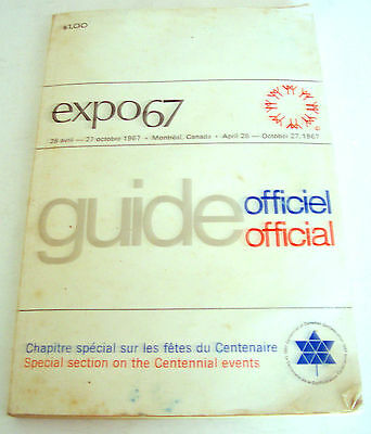 Expo 67 Official Guide Book