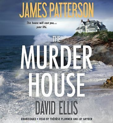 THE MURDER HOUSE James Patterson Unabridged 9 CDs New Audiobook