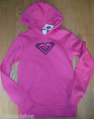 Roxy girl hoodie top fleece size 13-14 y BNWT hoody pink