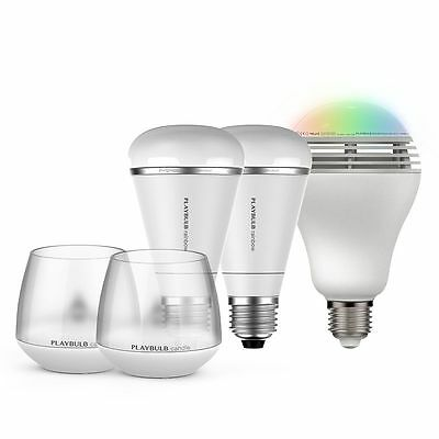 MIPOW PLAYBULB Bluetooth Lighting Deluxe Bundle (5 pack)