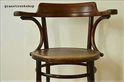vintage bentwood armchair chair Thonet style captain industrial   UK DELIVERY