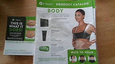 80 ItWorks blitz cards and 90 Catalogs