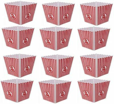 Plastic American Style Reusable Popcorn Holder Box