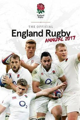 England Rugby Union 2017 Official Annual Book Hardcover Ruggers RFU Twickenham