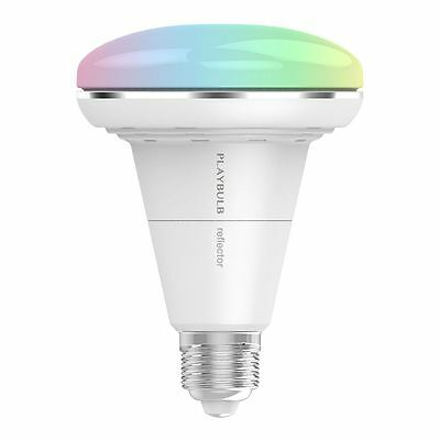 MIPOW PLAYBULB Reflector Bluetooth SMART LED Colour Light Bulb for Screw Fitting