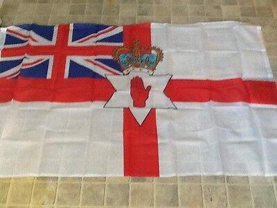 5 x 3 FT  Ulster flag  with Union Jack