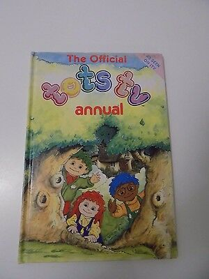 TOTS TV ANNUAL 1993 Hardback Book Excellent Condition
