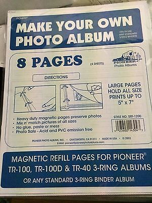 Pioneer Refill Pages (4)  for TR100 Magnetic Album