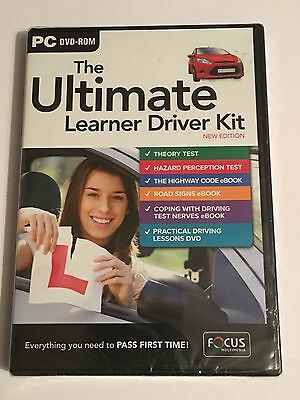 The Ultimate Learner Driver Kit (New Edition) New & Sealed