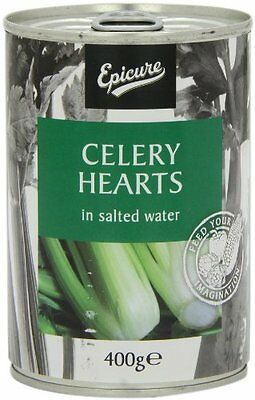 Epicure Celery Hearts in Salted Water 400 g  Pack of 12