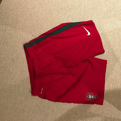 Mens Portugal Football Shorts 16 Worn Once!