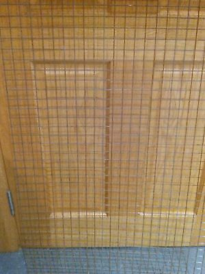 Welded Wire Mesh Panel 590x585 23x23 Holes Sheet Metal Grid