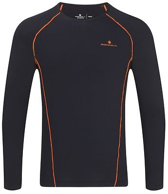 Ronhill Men's Base Thermal 100 Long Sleeve Technical Sports Running Baselayer