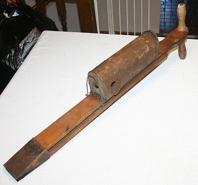 Rare Antique Acme Seeder with Pumpkin Seed Attachment San Francisco California