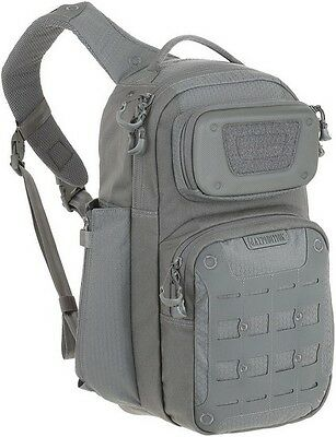 "Maxpedition GRFGRY Gridflux Sling Pack 12""L x 9""W x 18""H Gray"