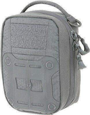 """Maxpedition FRPGRY FRP First Response Pouch 9""""H x 2.5""""W x 6""""L Gray"""