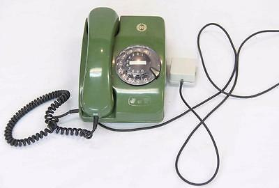 Vintage Green Rotary Telephone Sapura (under licence from Siemens) #10056