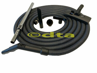 Central Vac Ducted Vacuum Cleaner Hose Kit 9M With Rod, Floor Head + Bonus