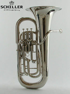 Schiller Elite Compensating Tuba Nickel Plated