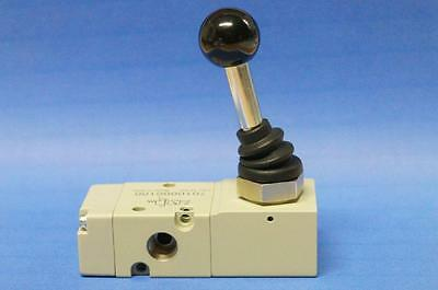 3/2-way valve actuated by hand monostable bistable 90 ° Lever div. mod. Models