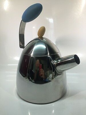 Michael Graves Designs Stainless Whistle Stay Cool Tea Kettle