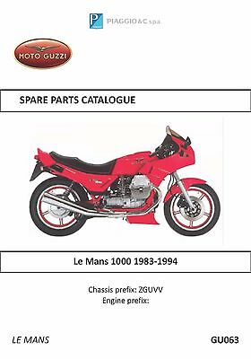 moto guzzi owners manual book le mans 1000 december 1984 edition rh picclick com moto guzzi service manual moto guzzi norge owners manual