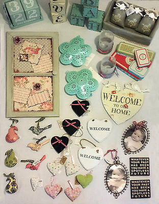 Wholesale Job Lot Gorgeous Shabby Chic Style Gift Items (approx 175 items)