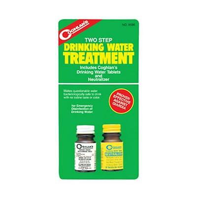 Coghlans 2 Step Water Treatment Tablets and Neutralizer 9586
