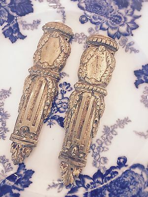 Pair Of Antique French Ormolu Mountings For Furniture......beautiful