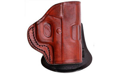 Tagua PD2 Paddle Holster Right Hand Brown S&W M&P Shield Leather PD2-1012