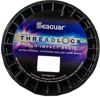 Seaguar 50S16W600 Threadlock Strong Hollow Cord White Braid 600 Yd 50 lb Line