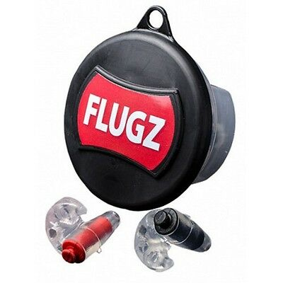 Otis Technologies CD-FL-1 Flugz 21 dB Hearing Protection Black/Red Formable