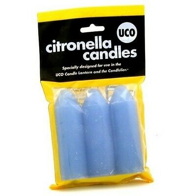 UCO L-CAN3PK-C Pack Of 3 Citronella Candles