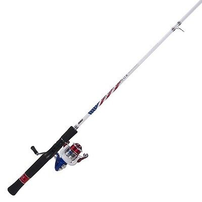 Zebco FOHS20602M08CNS4 Folds Of Honor Spinning Combo 6' 2 Piece Medium