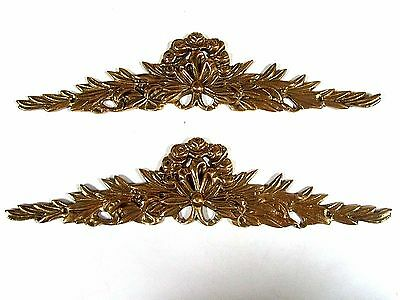 12 BRASS DECORATIVE MEDALLIONS for BACK OF STEPS and STAIRS and PICTURE or DOOR