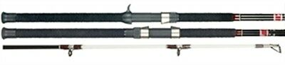 SCAT80C B&M Company Silvercat 2-Piece Casting Catfish Fishing Rod 8 Foot