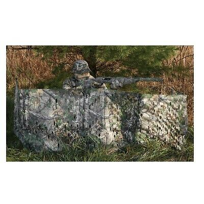 """Hunter's Specialties Ground Blind Portable Realtree Xtra Green 12' X 27"""" 07216"""