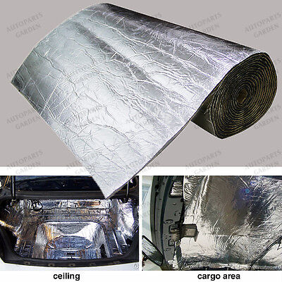 1M x 0.5M Firewall Sound Deadener Car Heat Shield Insulation Deadening Material