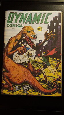 Dynamic Comics No. 21 (Superior 1947) Canadian edition Scarce Coverless