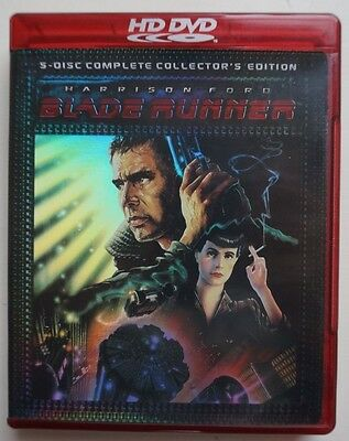 Blade Runner HD DVD  5 Disc complete collector's edition