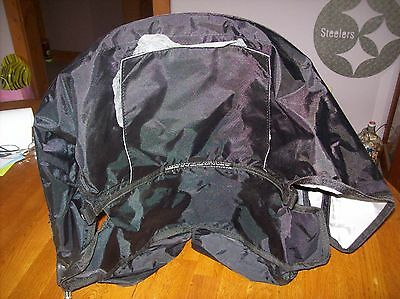 Stroller Canopy Replacement Part with posts Black New