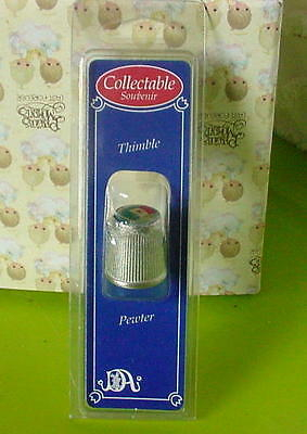Mexico Collectible Thimble - Pewter - In Unopened Packaging