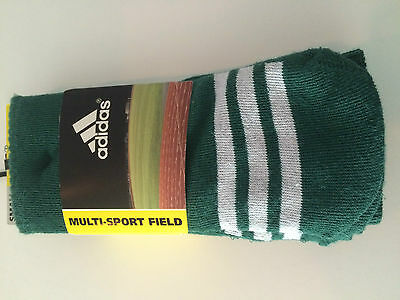 ADIDAS Multi-Sport Climate Cushioned 2 PAIR SOCKS YOUTH Small SIZE 13C-4Y NEW