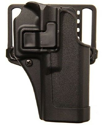 BlackHawk 410568BK-R Serpa CQC Concealment Holster Right Handed for Glock 43
